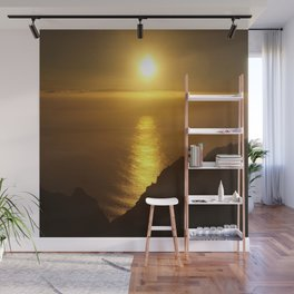 Sunset over the Canary islands Wall Mural