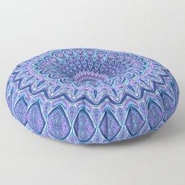 Purple Passion - Mandala Art Floor Pillow