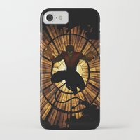 nightcrawler iPhone & iPod Cases featuring Night Stained Glass by Daniac Design
