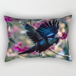 Tui in flight Rectangular Pillow