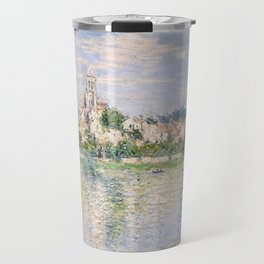 Vetheuil in Summer 1880 by Claude Monet Travel Mug