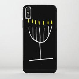 menorah,Hanukkah,jewish,jew,judaism,Festival ofLights,Dedication,jerusalem,lampstand,Temple iPhone Case