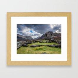 Dolbadarn Castle Snowdonia Framed Art Print