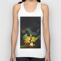 superhero Tank Tops featuring Superhero by Kamiledesigns