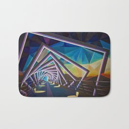 Trestle Bridge Bath Mat