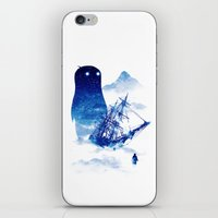ship iPhone & iPod Skins featuring Abandon Ship by Niel Quisaba