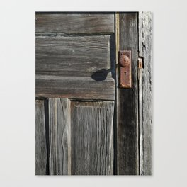 Door knob Canvas Print