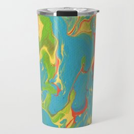 Paint Pouring 7 Travel Mug