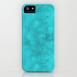 Metal Blue Turquoise Background iPhone Case
