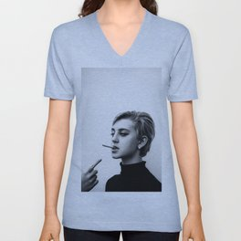 Cigarettes and the 60s Unisex V-Neck