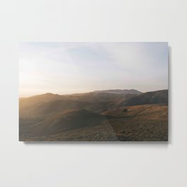 The Headlands Metal Print