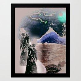 Konkubine Art Print