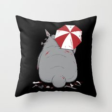 My Evil Neighbor Throw Pillow