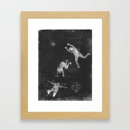 Shadow Dancers Framed Art Print