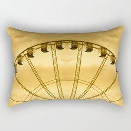 Carnival Cryptography Rectangular Pillow