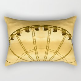 Carnival Cryptography Rectangular Pillow
