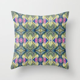 Dripping Mountains  Throw Pillow