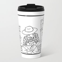 Garden Hoes Travel Mug