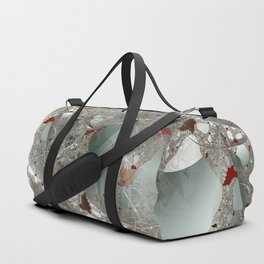 Tangled in the fractal mist Duffle Bag