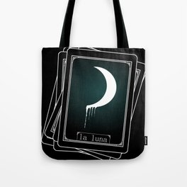 Luna Tarot Card Tote Bag