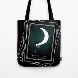 Luna Tarot Card Tote Bag