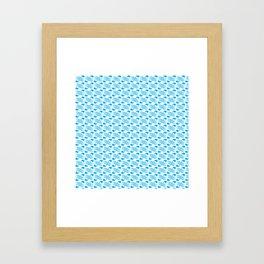 Oh Whale Framed Art Print