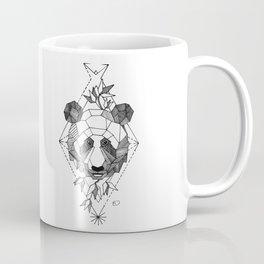Geometrical Panda with Morse Code Coffee Mug