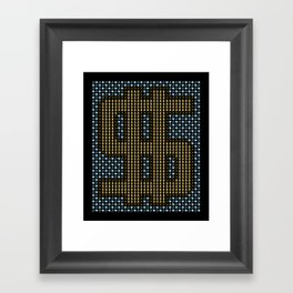 Diamond Rings and all that Blings Framed Art Print