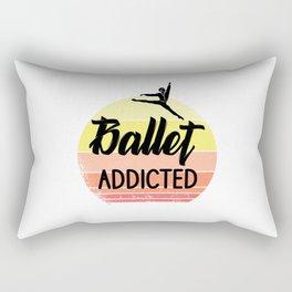 Ballet addicted Rectangular Pillow