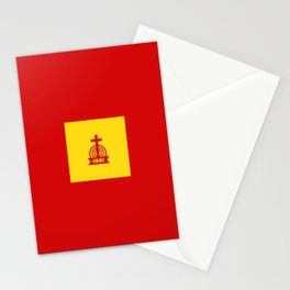 Henny Maestro - Gold on Red Stationery Cards