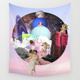 Modern Heaven Wall Tapestry