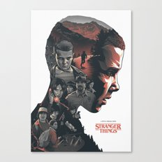 Stranger Things - Poster V1 Canvas Print