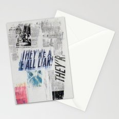 LIARS Stationery Cards