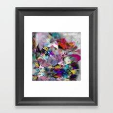 Crystal print Framed Art Print