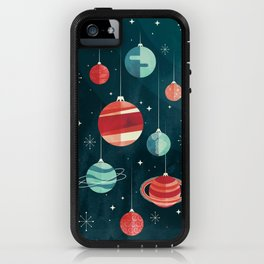 Joy to the Universe (in Teal) iPhone Case
