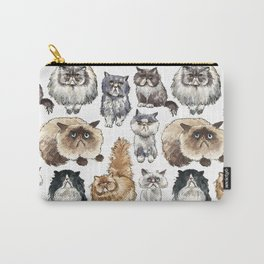 Disappointed Cats Carry-All Pouch