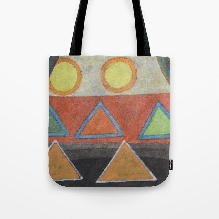 Clear the Stage for the Geometry Show Tote Bag