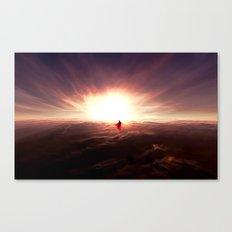 Ad lucem (Towards the light) Version 2 Canvas Print