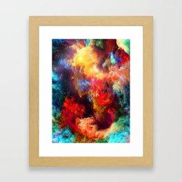Amazing Galaxy Framed Art Print