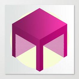 M Cube 1. Canvas Print