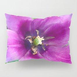 467 - Open Purple Tulip Pillow Sham