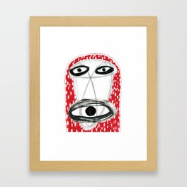 Metanimal - atomic energy creature Framed Art Print