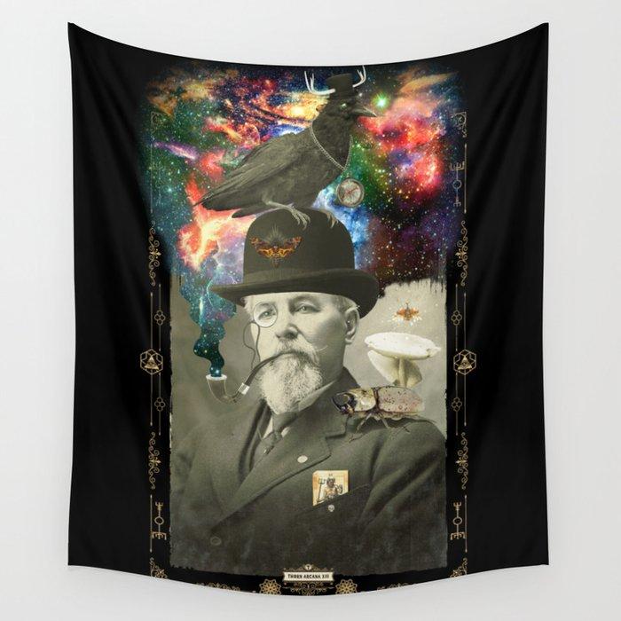 Odd Scientist Wall Tapestry