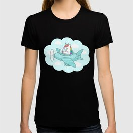 Unicorn Plane T-shirt