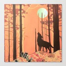 wolf_2 Canvas Print