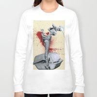 medicine Long Sleeve T-shirts featuring Bad medicine by Oscar Varona