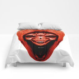 Red Haired Skull Comforters