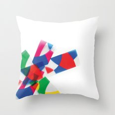 Unknown Shapes Throw Pillow