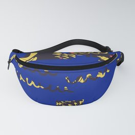 Deep blue sea Fanny Pack