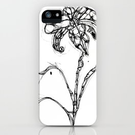 Nature, men and women - Daylily iPhone Case